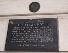 Plaza Hotel since 1907