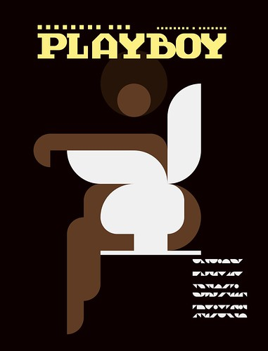 Iconic Magazine Cover #2 - Playboy 1971 by omarrr
