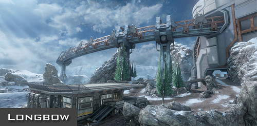 Halo 4 Longbow Map Strategy Guide