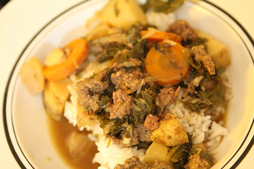 Beef and Turnip Stew