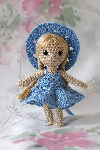 Crochet Mini Doll Pattern : Mini crochet doll Flickr - Photo Sharing!
