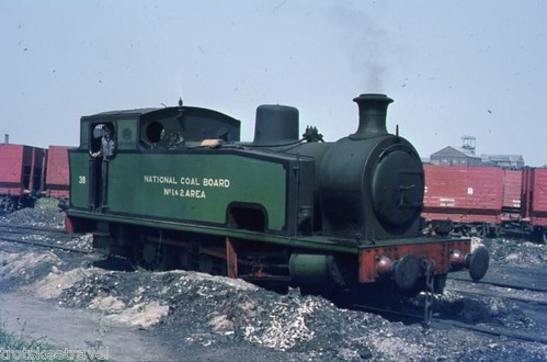 Burradon Colliery in the summer of 1970