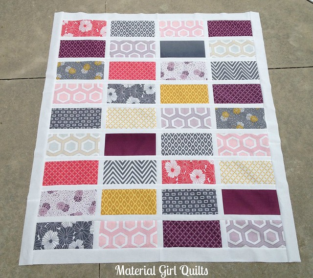 Baby Cakes quilt top