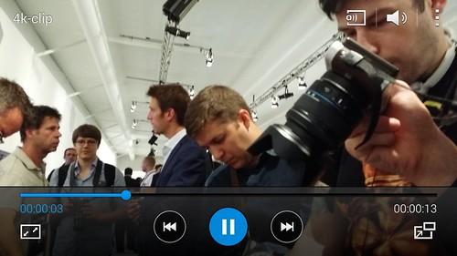 ชมคลิป 4K บน Samsung Galaxy S5