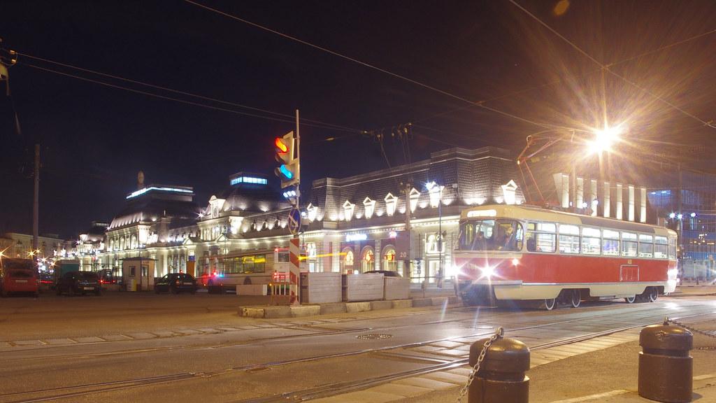 Moscow museum tram Tatra T3SU