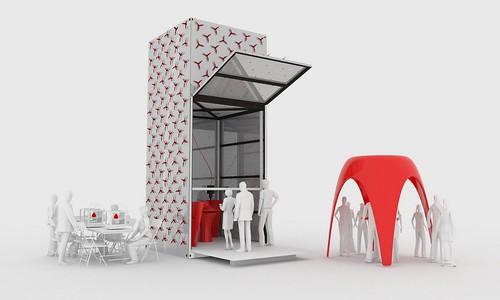 荷蘭建築師 Dus Architects 在阿姆斯特丹運河畔建造 3D列印小屋