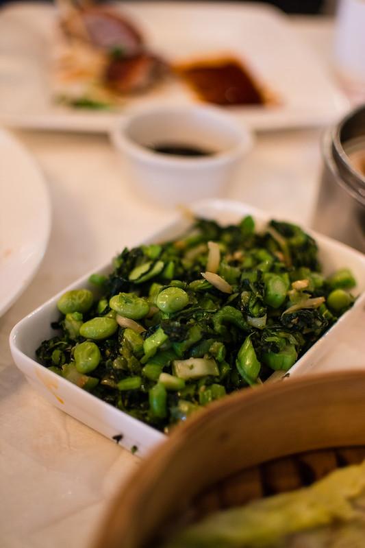 Mixed vegetables at Mandarin House