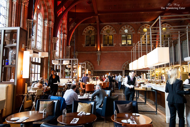 Interior during the morning at The Booking Office