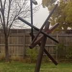 "Dave Mazza - Spica. Steel, 132x72x60"" 2004"