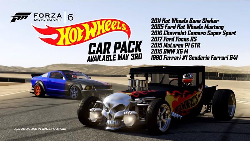 Forzamotorsport En Us News Fm6 Hot Wheels Car Pack Newsxbox 201 6