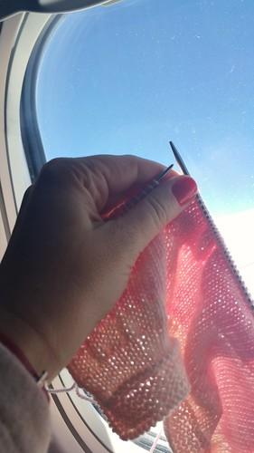 Plane knitting