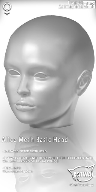 CATWA HEAD Alice