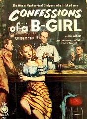 Confessions Of A B-Girl - Croydon Books - No 44 - Sim Albert - 1953