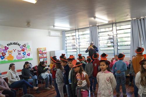 Escola Municipal Vila Izabel - Homenagem ao dia das Mães