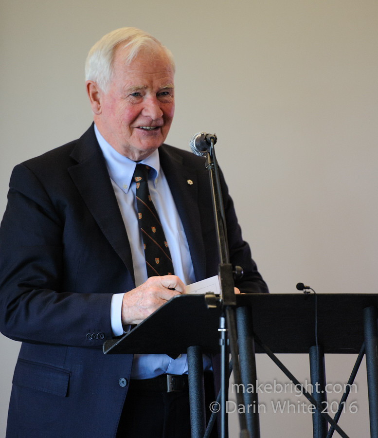 Governor General David Johnston at the AC - May 2016 307