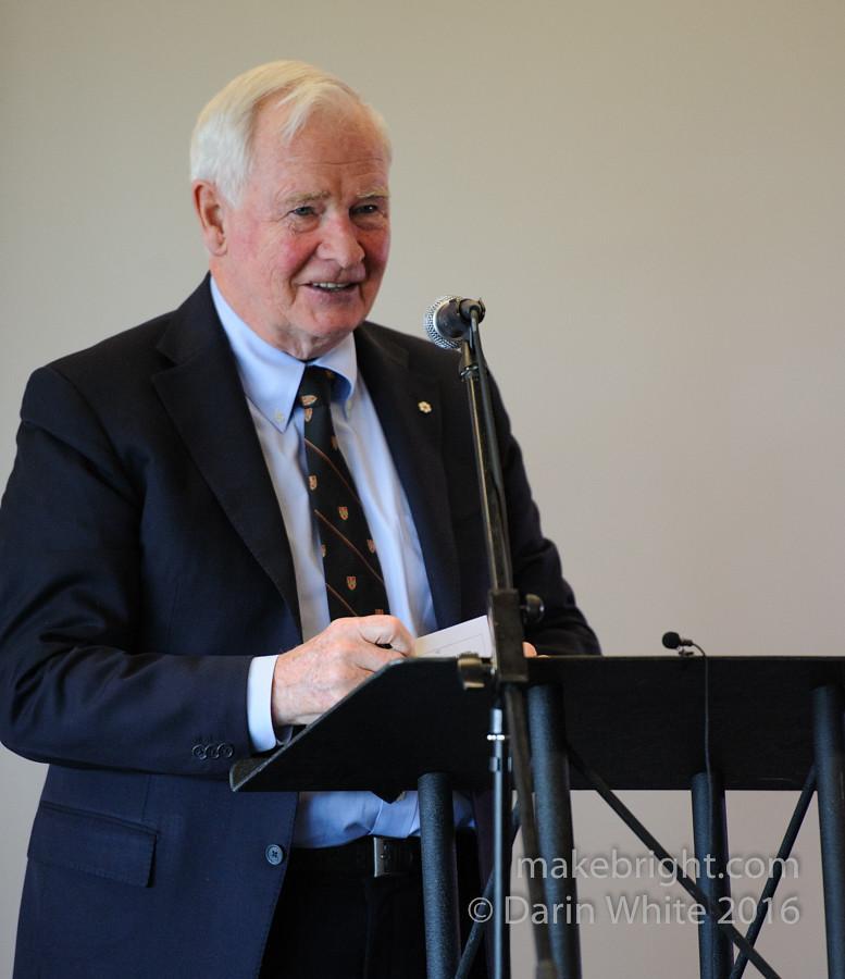 Governor General David Johnston at the AC - May 2016 307