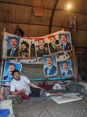 Saleh Supporter Camp