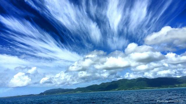 リーダー帰っちゃって雲が増えてきた!!