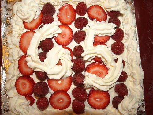 Sandy 65 Birthday Cake