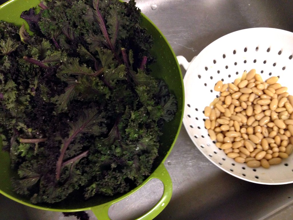 Kale and Cannellini Beans
