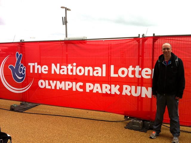 Olympic Park Run Banner