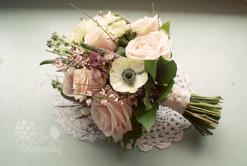 Vintage Country Garden Style Bridal Bouquets