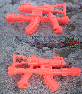 """MEGA MUTANTS"" TEENAGE MUTANT NINJA TURTLES :: NEEDLENOSE xix / Mega Machine Gun (( 1990 ))"
