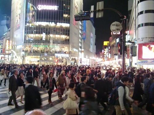 Tokyo-043 Shibuya intersection
