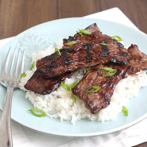 Grilled Beef Teriyaki | Tracey's Culinary Adventures