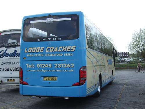 Lodge Coaches, TL07DGE in Salisbury, DSCF0169