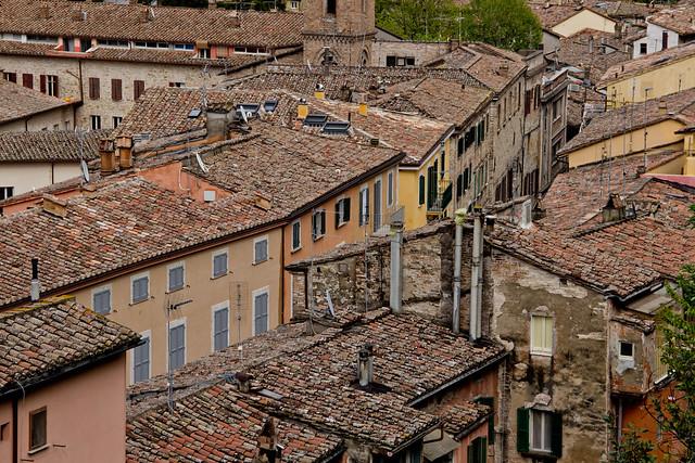 Perugia's Rooftop Textures