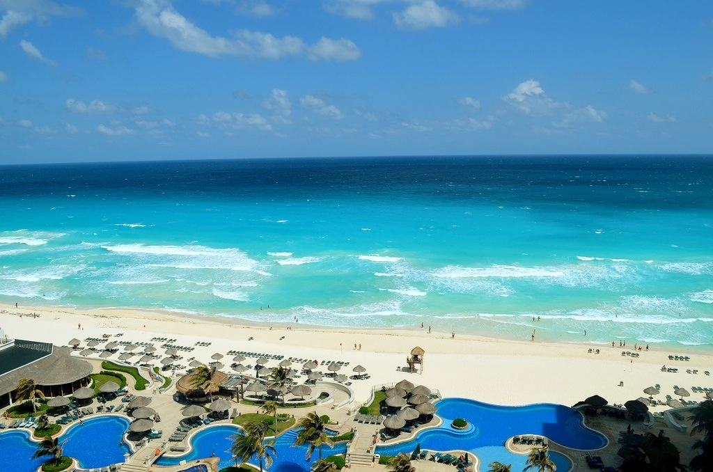 Room view at the JW Marriott Cancun