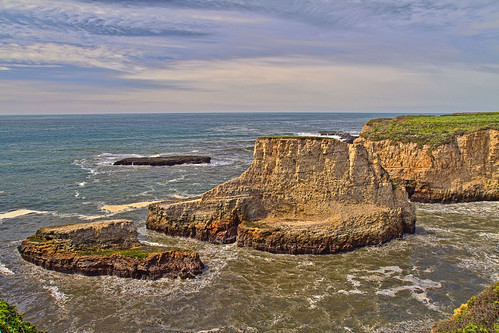 Ship Rock - Davenport, CA