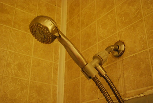 New shower head!