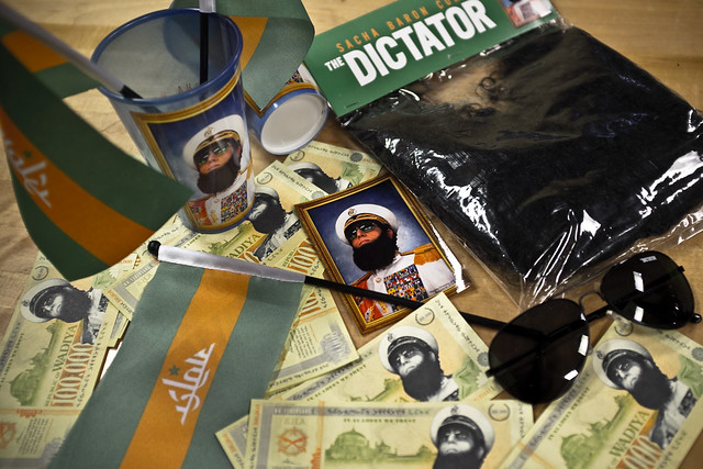 The Dictator - Press Kit