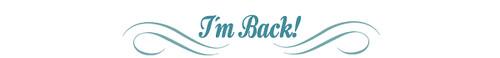 I´m Back