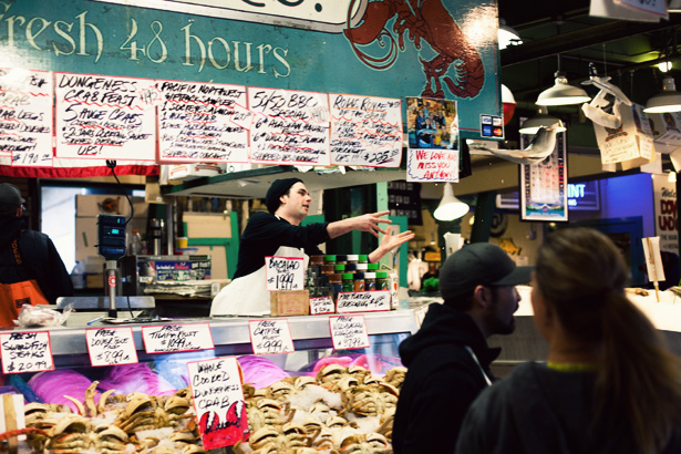 Pike place market ann street studio for Flying fish seattle