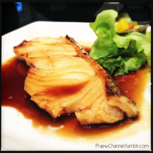 Grilled Snow Fish with Japanese Soy Sauce