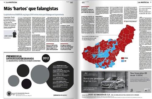 Curiosidades elecciones provincia de Granada