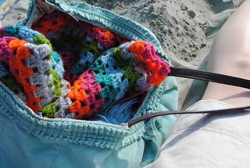 crochet on the beach!