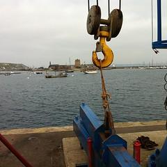 La grue du port