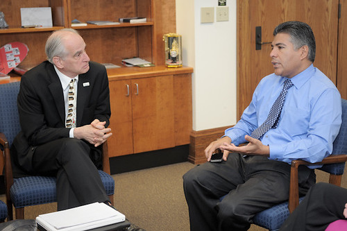 Arts for LA Board Member Meets with Councilmember Tony Cardenas of CD 6