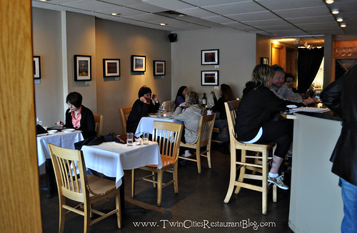 Dining at Ursula's Wine Bar ~ White Bear Lake, MN