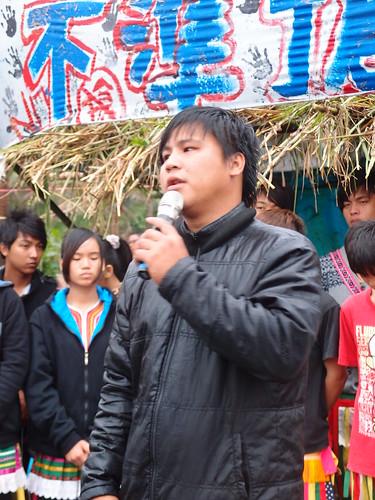 比西里岸青年團副團長馬紹表示,青年會持續捍衛傳統領域