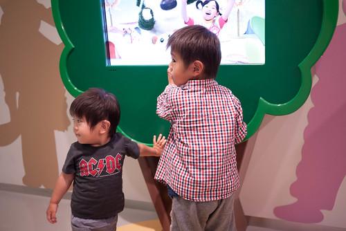 幼児番組コーナー
