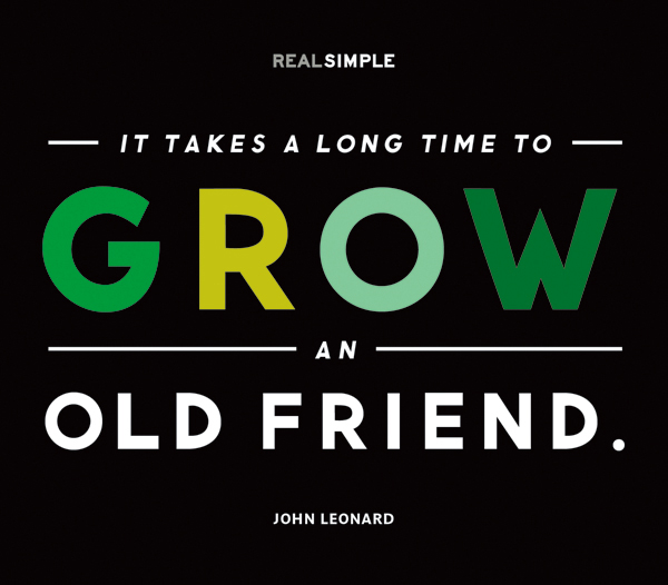 Friend Quotes Long Time : The indigo bunting new work real simple daily quotes