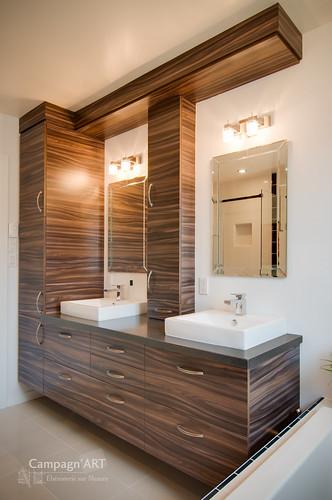 Campagn 39 art b nisterie sur mesure r novation compl te - Renovation mur salle de bain ...