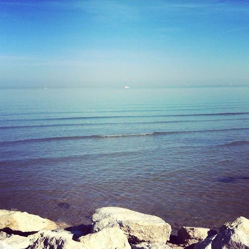 Rimini sea