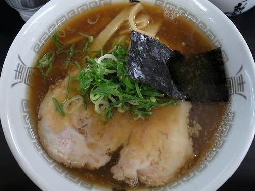 ra120623ら塾 醤油ラーメン 太麺