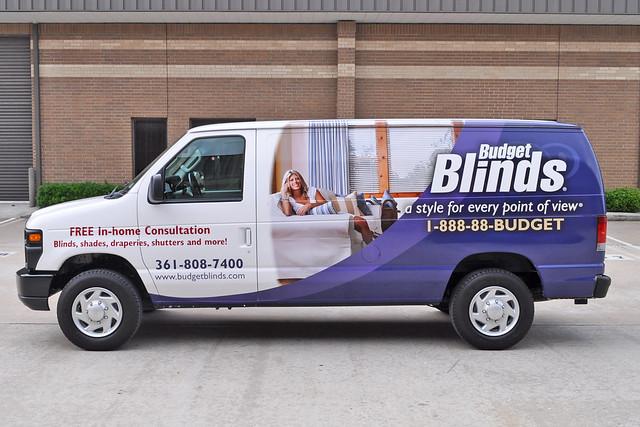 Van Wrap Installation For Budget Blinds Flickr Photo